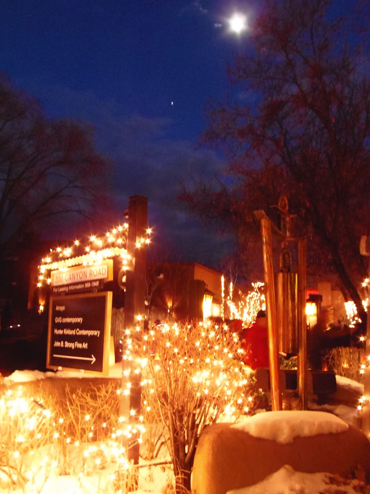 an unforgettable christmas in santa fe new mexico - Christmas In Santa Fe