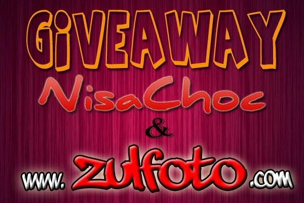 GIVEAWAY NISACHOC & ZULFOTO
