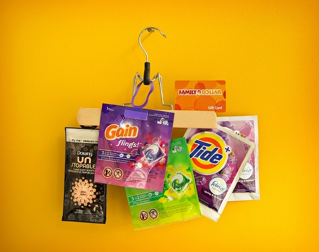 Family Dollar Fabric Care prize pack giveaway