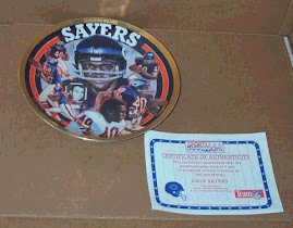 Gale Sayers Sports Impressions plate