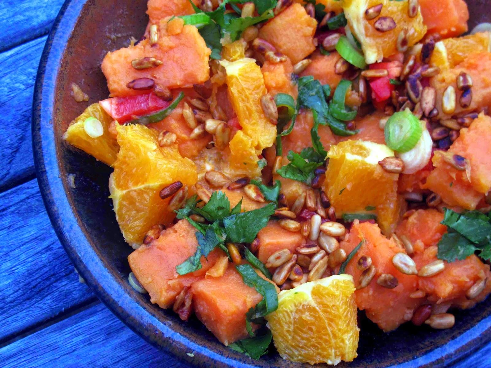 Shoot and Eat: Spicy Kumara Salad