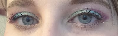 AMU Makeup Revolution Redemption Palette Mermaids vs Unicorn: Little Unicorn Eye Makeup