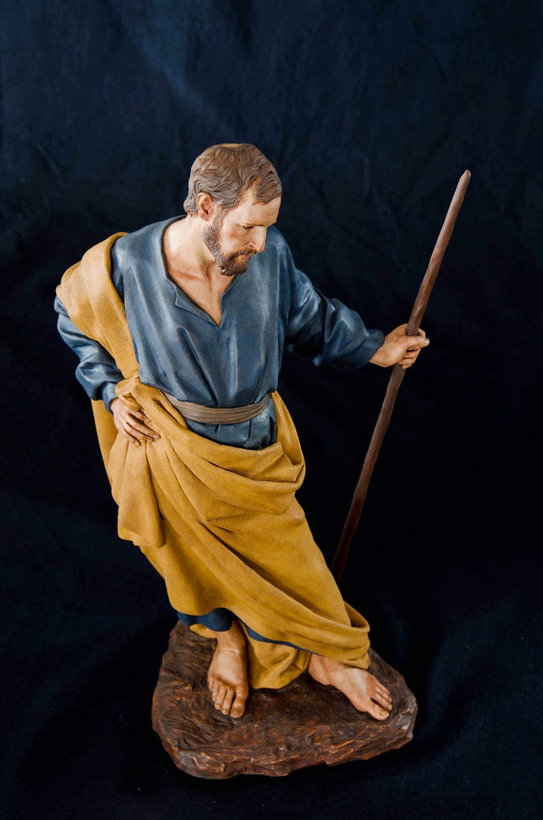 Nacimiento Belén Nativity presepe krippe Arturo Serra Barro cocido 7