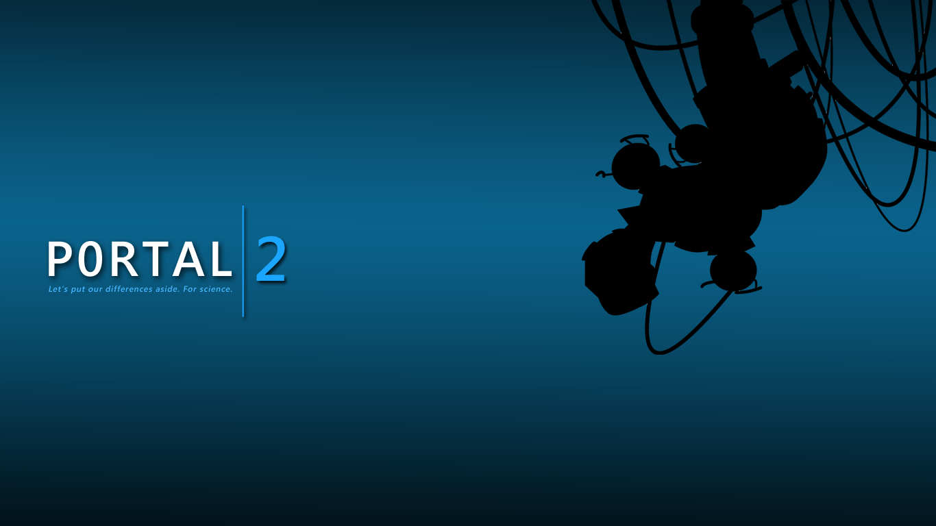 portal 2 wallpaper hd 2011