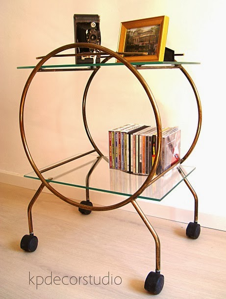 Kp tienda vintage online mesa auxiliar vintage vintage - Mesitas auxiliares salon ...
