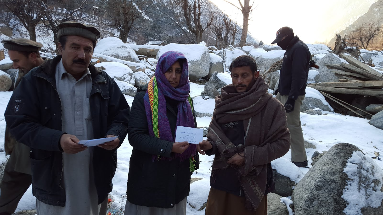 AHF RELIEF AID FOR BUMBURATE VALLEY OF CHITRAL