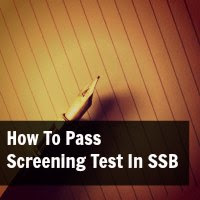 How To Pass Screening Test In SSB [PPDT]