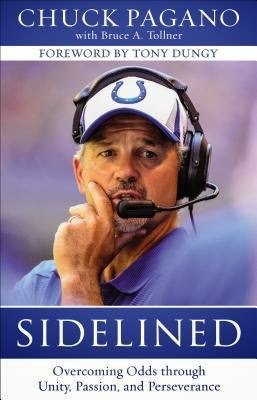 Sidelined {Chuck Pagano} | #sidelined #bookbloggers #giveaway #fcbloggers