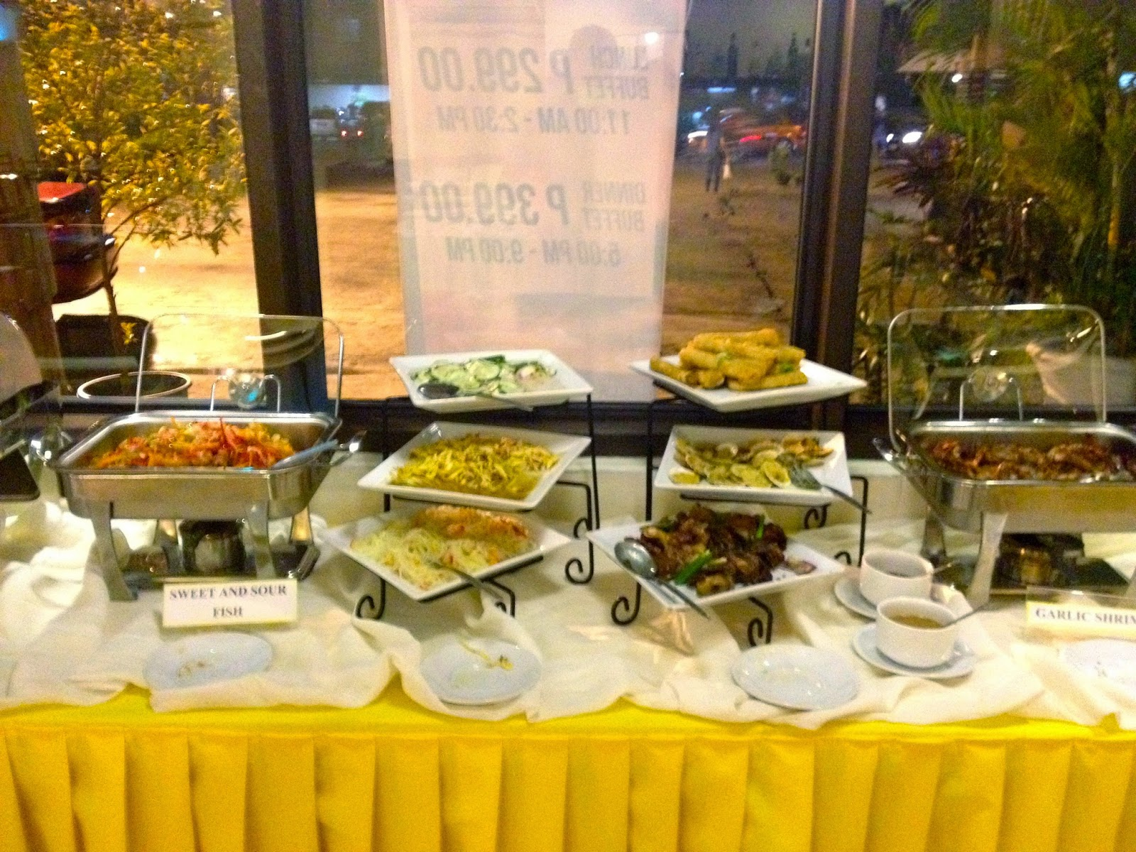 Feast-all-you-can at Golden Cowrie A.S. Fortuna, Mandaue City