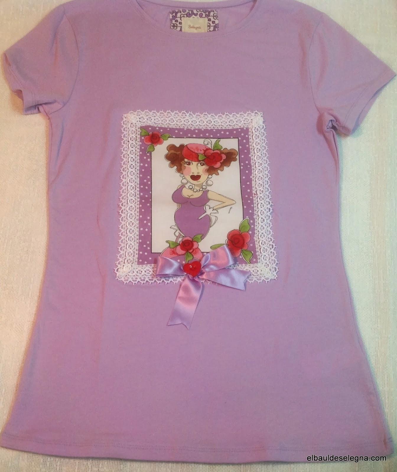 Camiseta chica loca 09