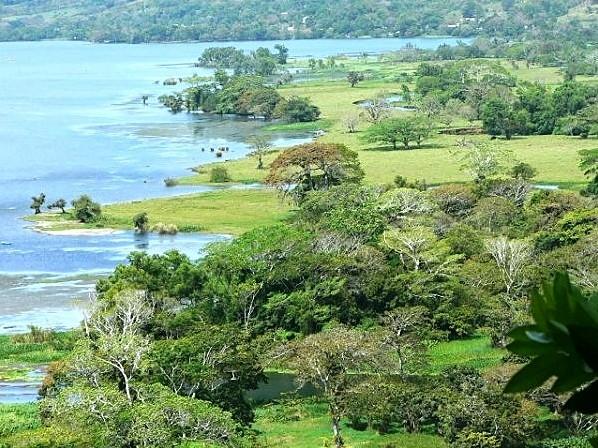 Isla de los Monos en la región de Tuxtlas