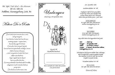 Undangan Pernikahan Islami MS Word4
