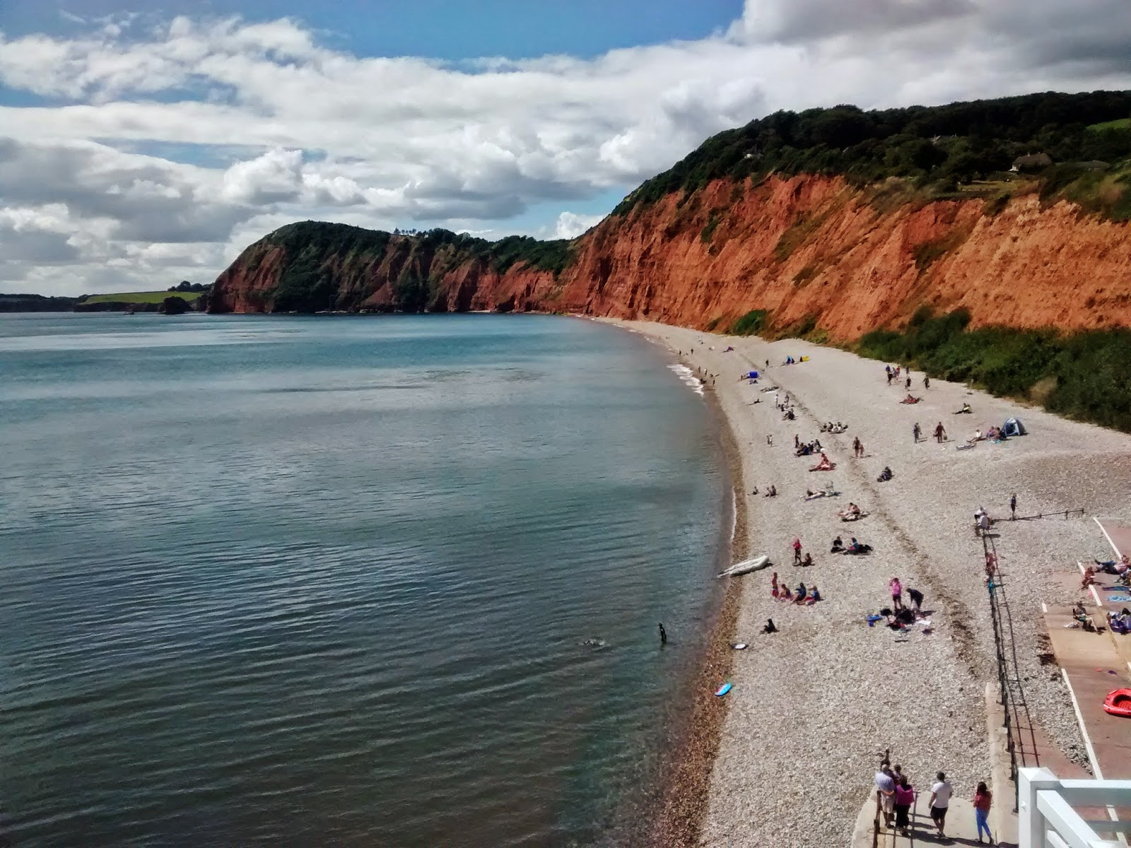 Sidmouth in the Summer