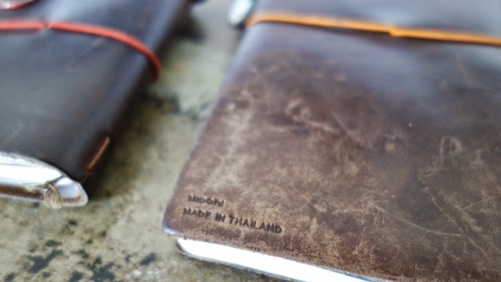 Image of: Yazd Stock How Does Your Travelers Notebook Look So Far Would Love To See It If You Could Send Us Pictures Baumkuchen Metamorphosis Midori Travelers Notebook Brown Years