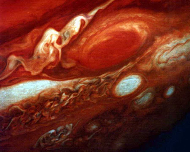 Grande mancha vermelha - Júpiter