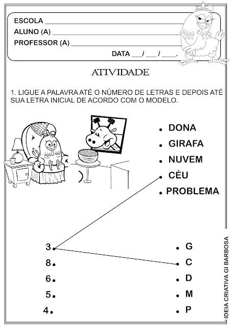 Atividade Galinha Pintadinha GEEMPA