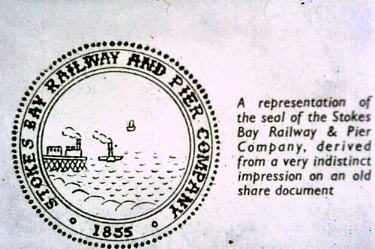 Seal of Stokes Bay Company
