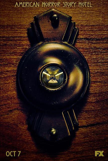 ¡Fecha de estreno y primer póster oficial de 'American Horror Story: Hotel'!