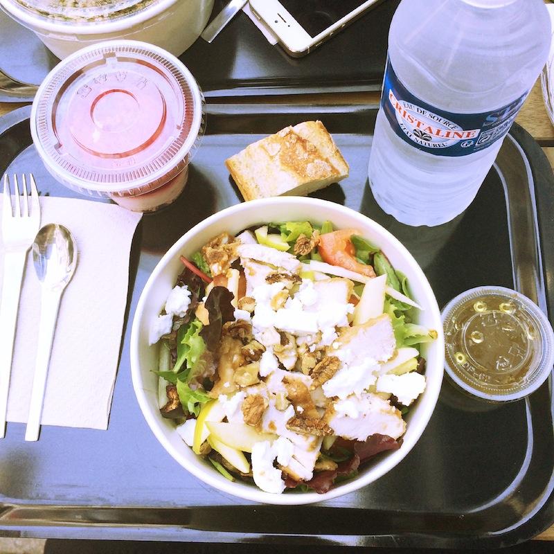 repas salade chez Popotte Bordeaux