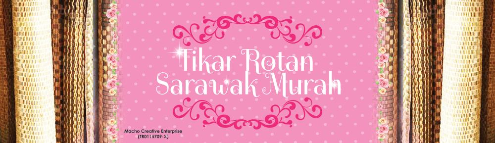 Tikar Rotan Sarawak Murah