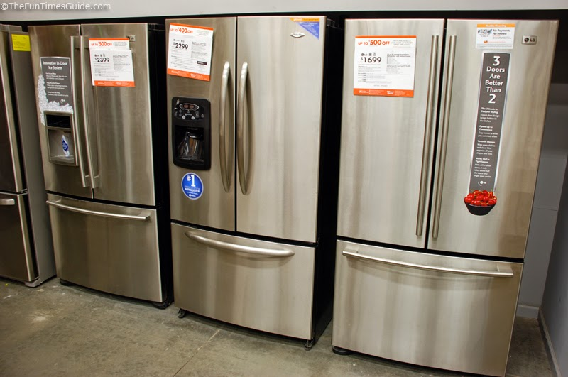 Washers And Dryers And stainless steel Refrigerator