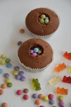 Tolle Überraschungs Cupcakes für Kinder