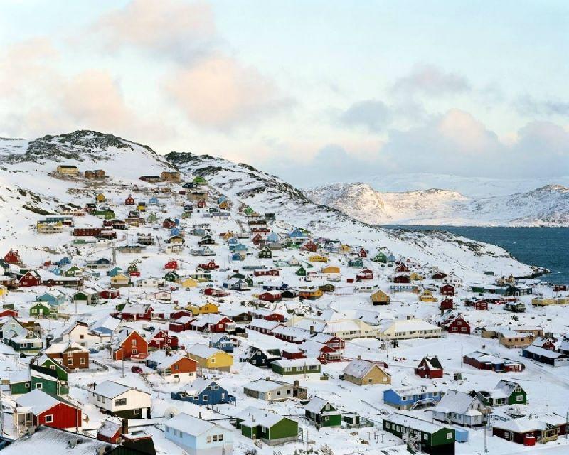 Tiny towns Qaqortoq, Greenland