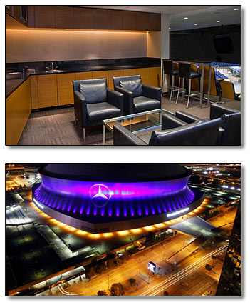 New orleans saints luxury suites 2016 luxury suite rentals for Mercedes benz superdome suites