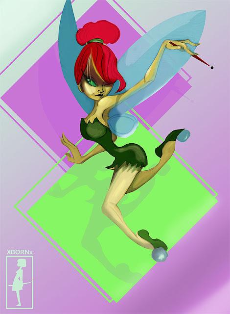 xBORNx Tinker Bell por xBORNx