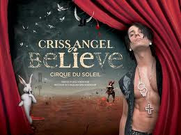 Chris Angel Believe show