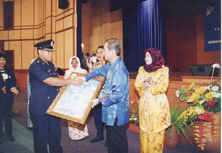 With Fifth Prime Minister Malaysia