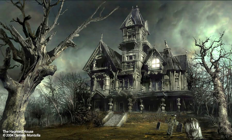 Love Those Haunted Houses