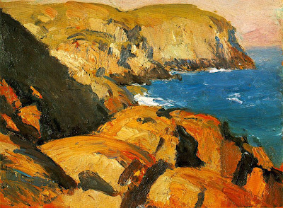 Edward Hopper, Blackhead, Monhegan, 1916-19