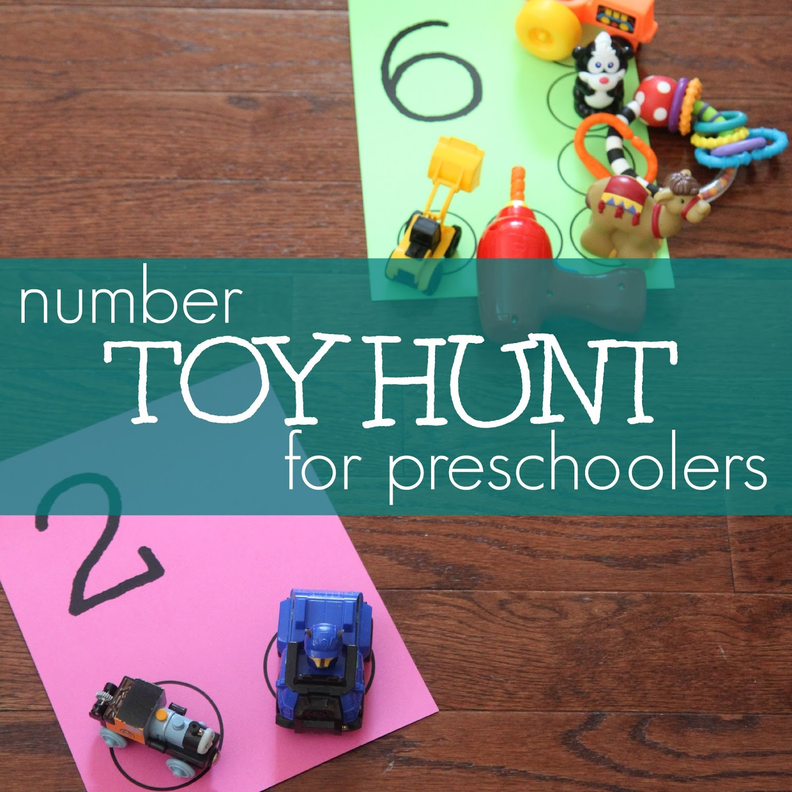 Toddler Approved!: Number Toy Hunt for Preschoolers
