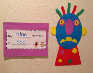 monster craftivity