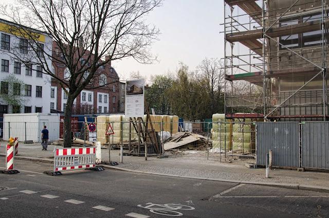 Baustelle GSZM, Gesundheits-und Sozialzentrum Moabit, Unterbringung der Staatsanwaltschaft Berlin, Turmstraße 22, 10559 Berlin, 03.04.2014