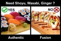 HOW TO EAT SUSHI?
