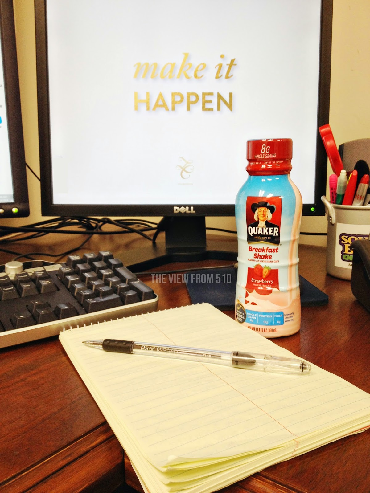 Mornings with #QuakerShakes #sponsored