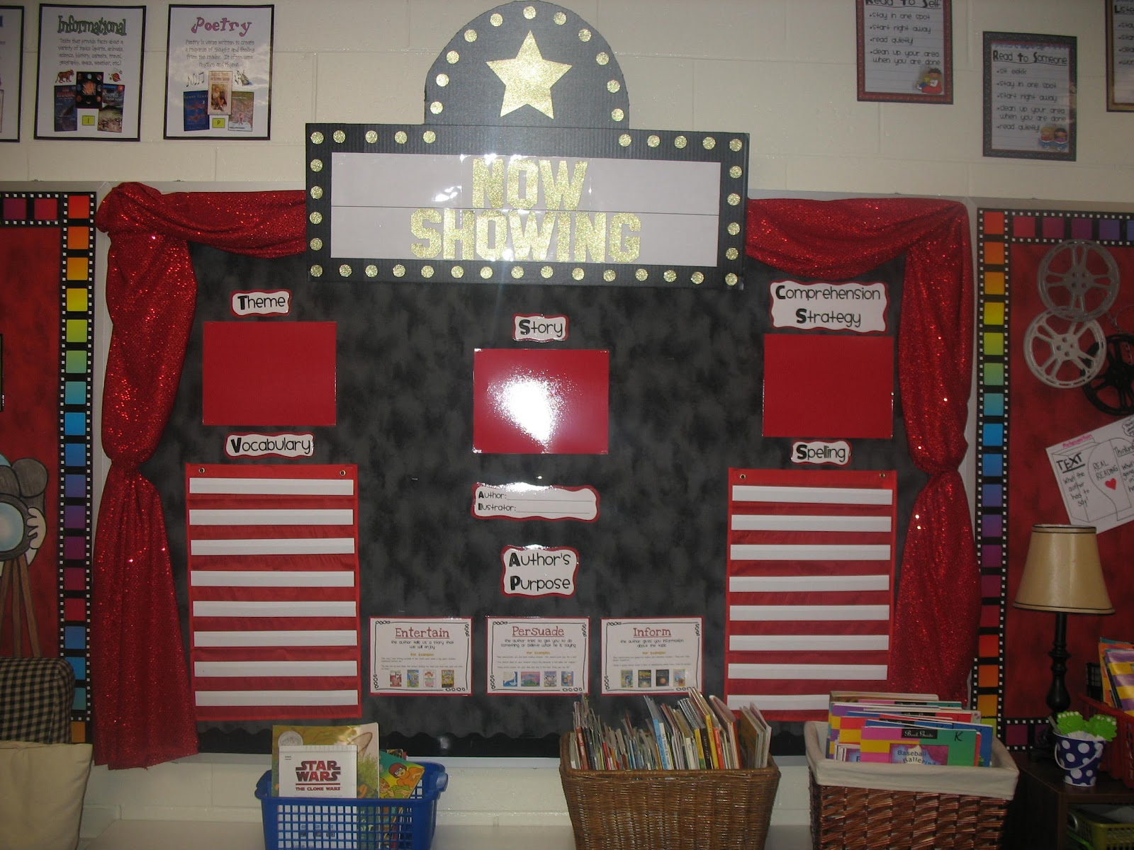 Hollywood Classroom Decor ~ Team nielson s newstand my  hollywood classroom