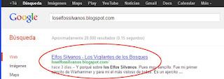 loselfossilvanos.blogspot.com en google