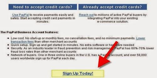 Cara Membuat Akun Paypal 2015