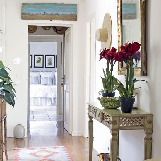 New Home Interior Design Country Hallway: New Home Interior Design: Traditional Hallway