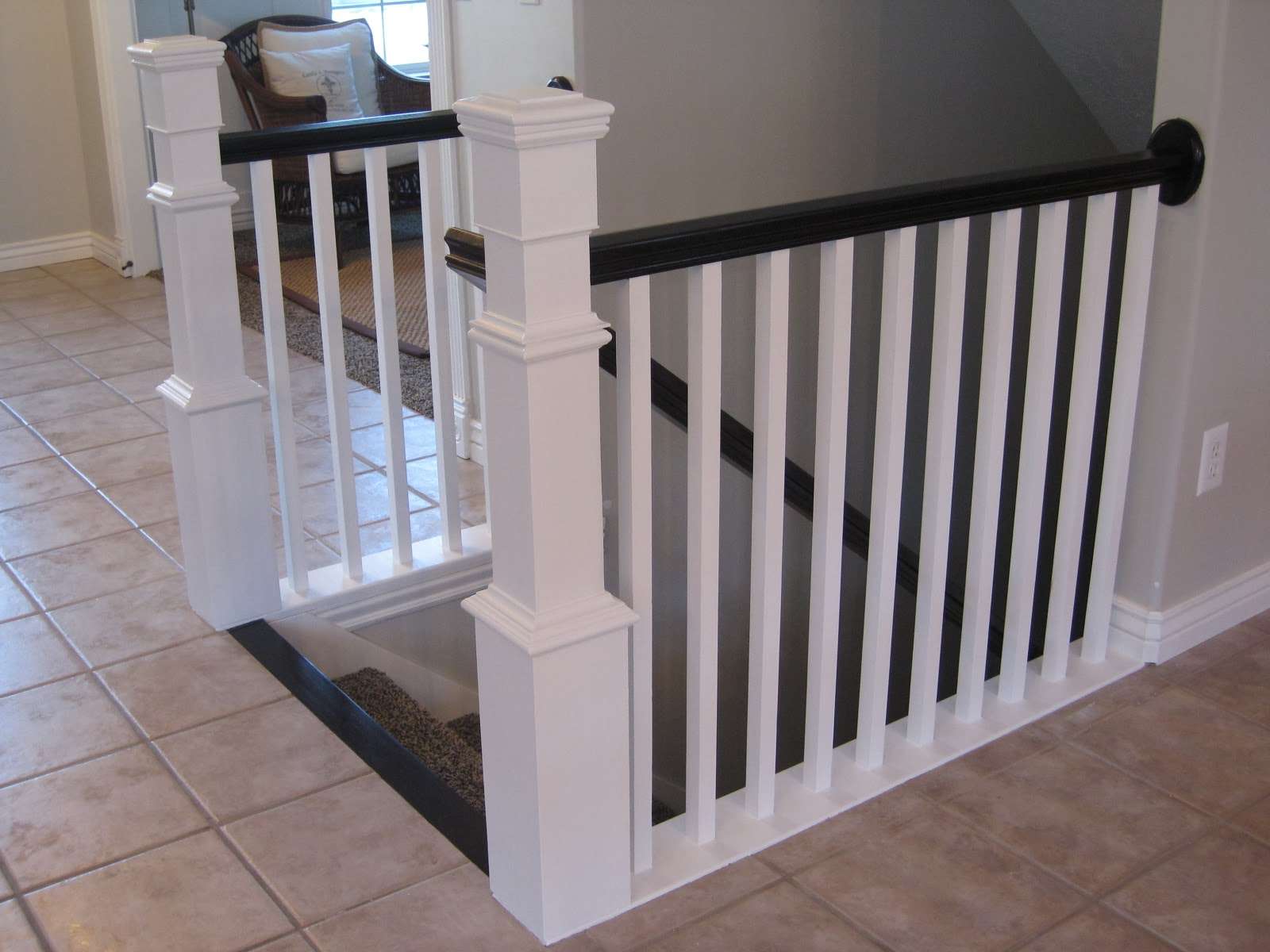 Tda Decorating And Design Before Amp After Diy Stair