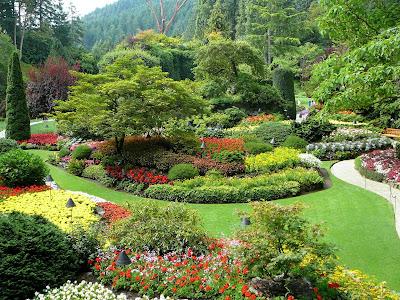 Butchart Gardens - Victoria, BC Canada