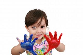 Maternal também pode pintar