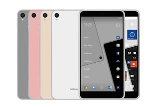 Muncul Bocoran Terbaru Ungkap Nokia C1 Bakal Jalankan OS Android dan Windows 10