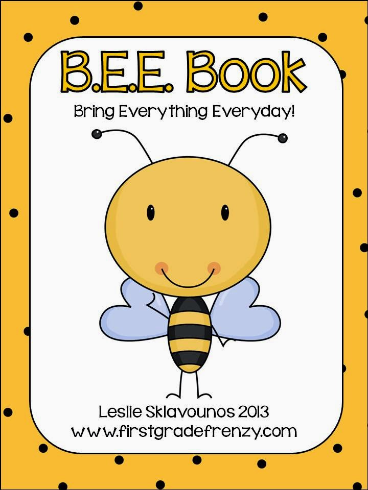 http://www.teacherspayteachers.com/Product/BEE-Book-Organizational-Tool-for-Students-867110