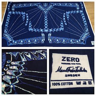 Blå Tunika/Zero av Maud Fredin Fredholm.