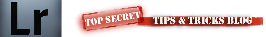 Lightroom Top Secret Tips and Tricks Blog