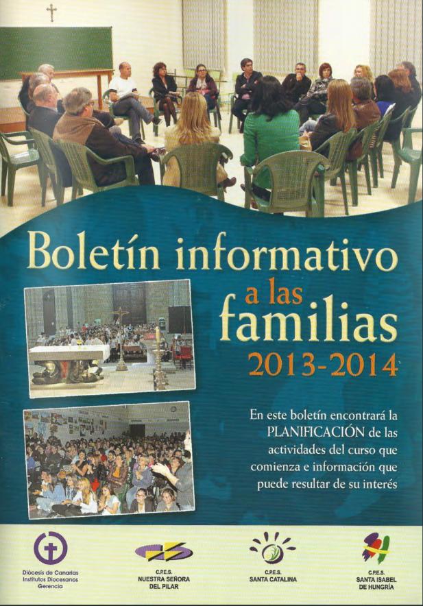 BOLETÍN INFORMATIVO 2013-2014